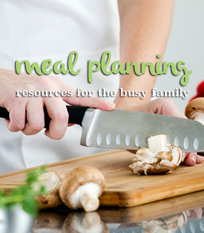 Great meal planning resources for busy families! -AndreasNotebook.com