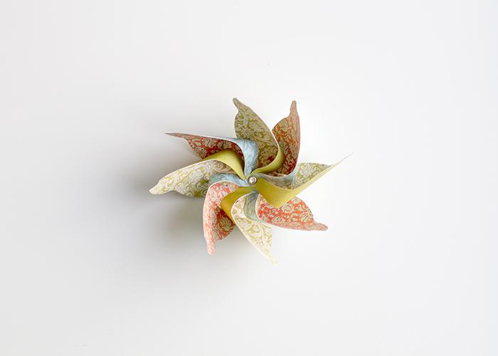 DIY pinwheel project - free template