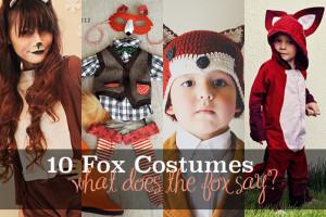 Fox costume tutorials