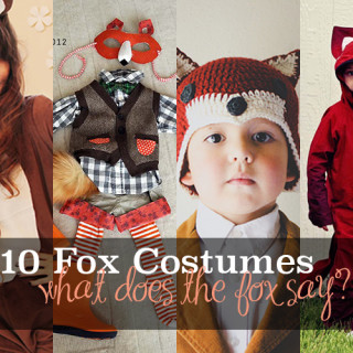 Fox costume tutorials
