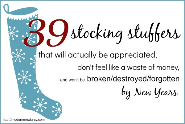 Seriously awesome list of stocking stuffers andrea 39 s Unique stocking stuffers adults