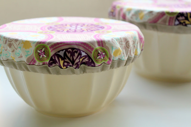 cloth bowl cover tutorial