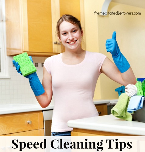 10 speed cleaning tips! These are MUST read!
