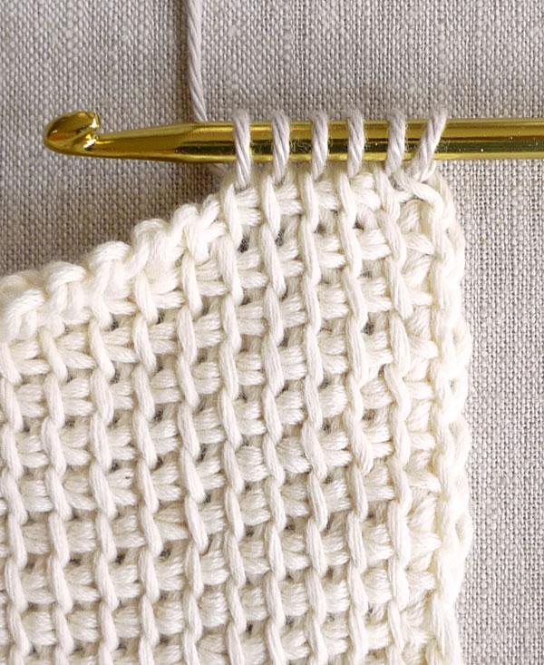 Learn how to tunisian crochet!
