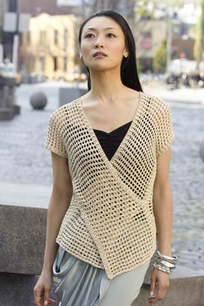 Tokyo vest- FREE tunisian crochet pattern