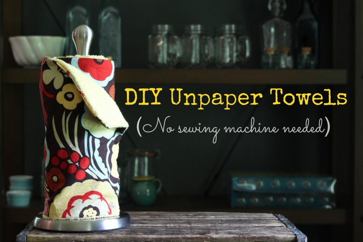 DIY paper towel tutorial