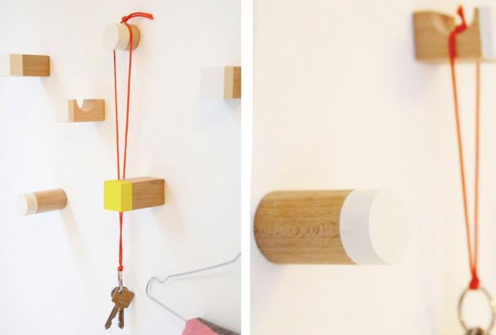 DIY Blocks as hangers