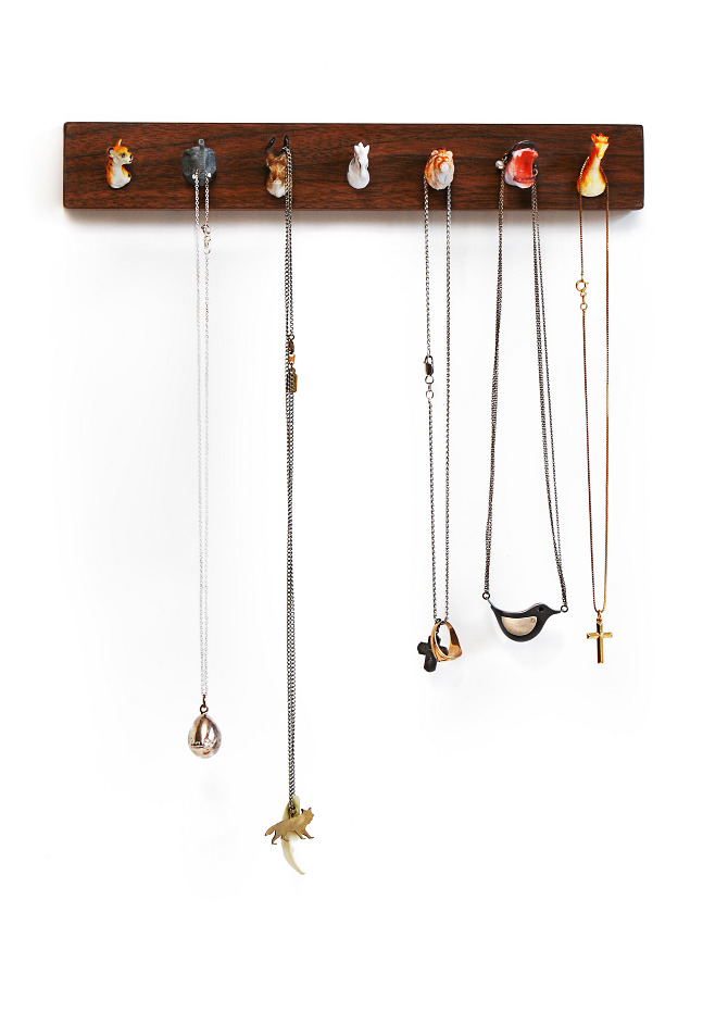 DIY jewelry hanger