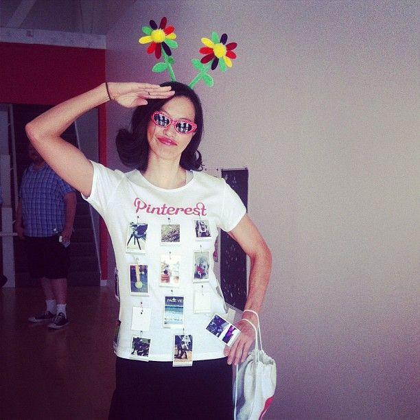 Simple Pinterest costume