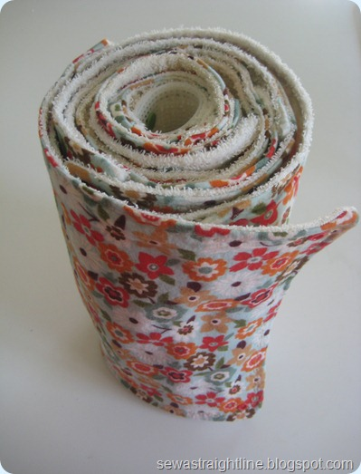 "DIY cloth ""paper"" towels"