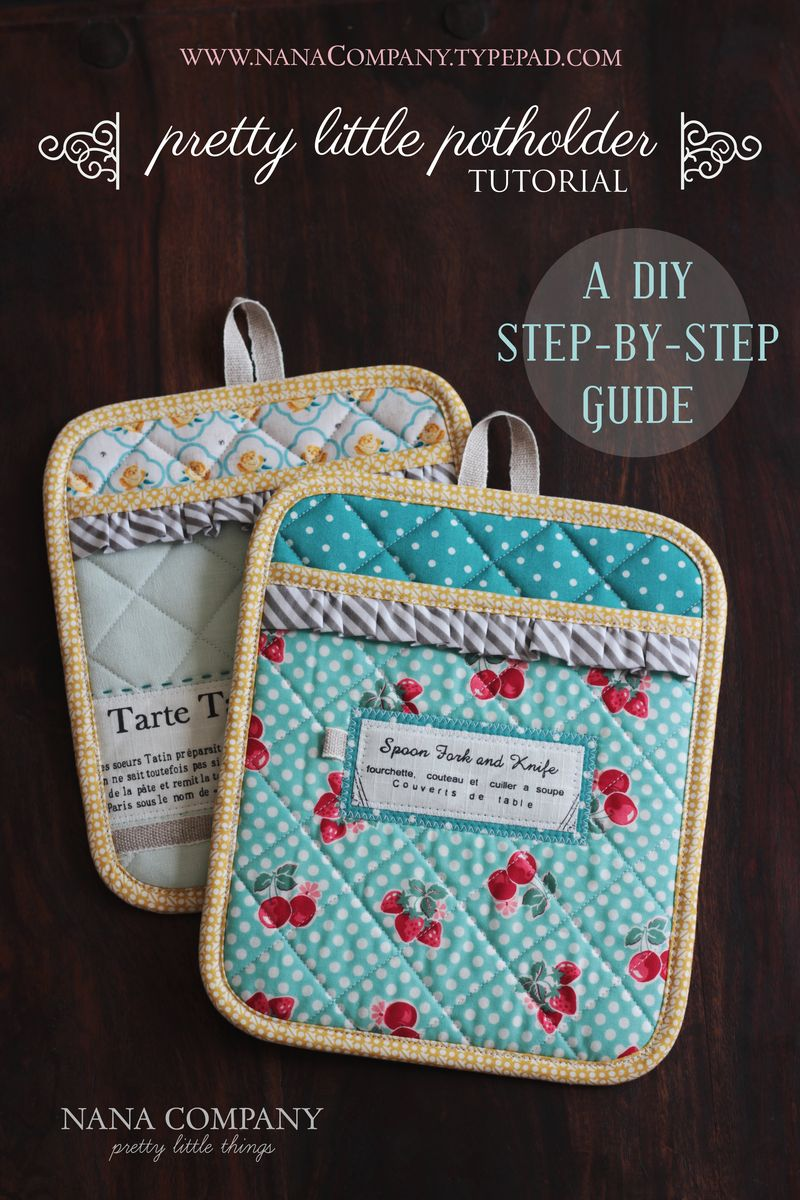 adorable potholder tutorial!