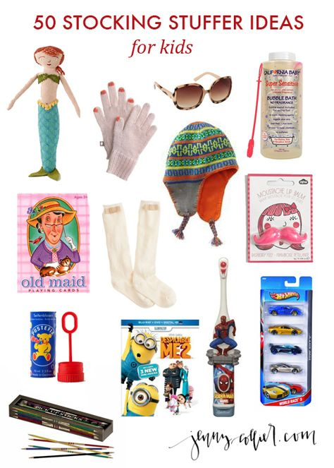 tons of stocking stuffer ideas