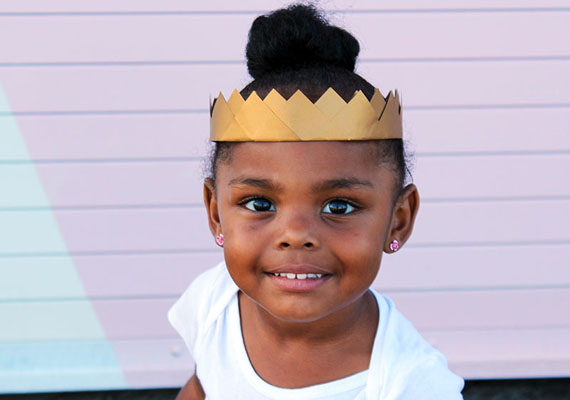 Easy DIY paper crown