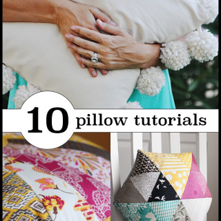 10 gorgeous pillow tutorials you have to see!