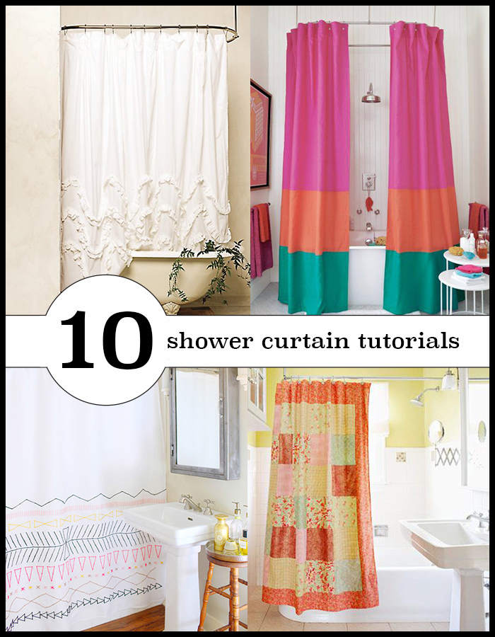 70 gorgeous things to sew for home andreas notebook 10 lovely shower curtains you can make yourself sew or no sew tutorials solutioingenieria Images