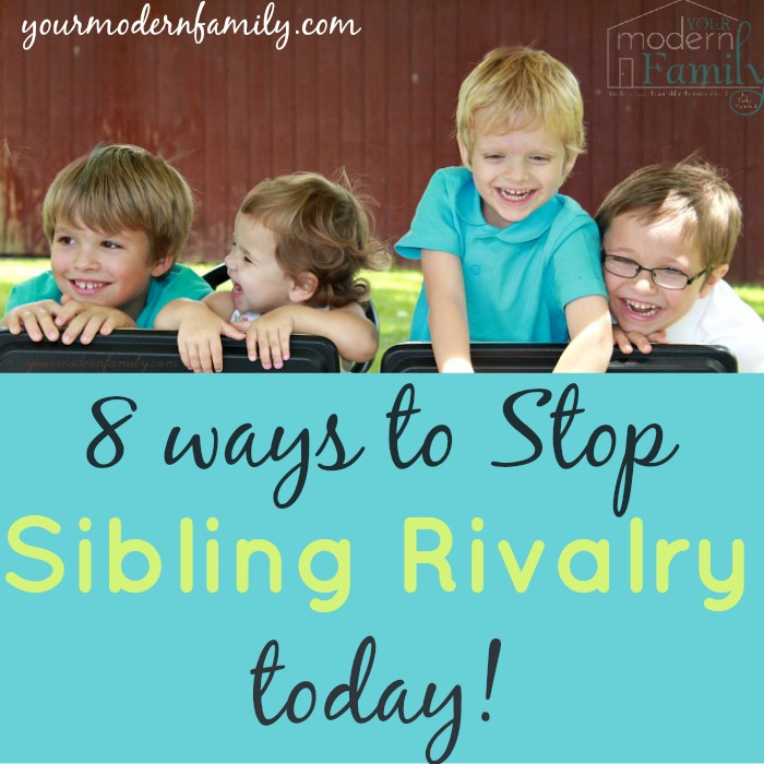 stop sibling rivalry TODAY. Must read.