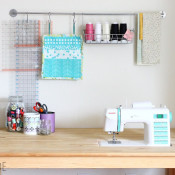 DIY sewing table - Ikea Hack