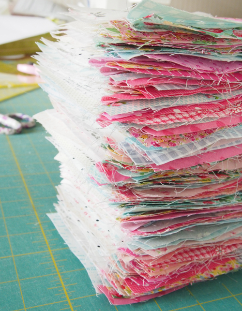 How to quilt efficiently!