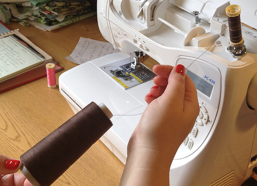So many sewing hacks! Stop buying serger thread! Read this!