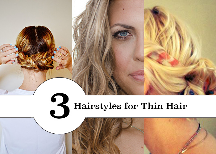 Great hair tutorials for thin or straight hair.