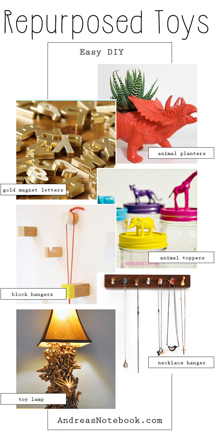 easy DIY toy repurpose ideas