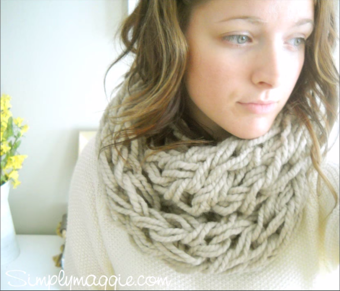 Simplest arm knitting tutorial