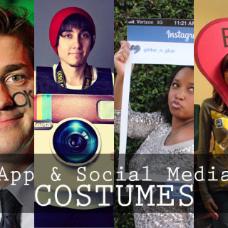 Last Minute Costumes for the Social Media Lover!