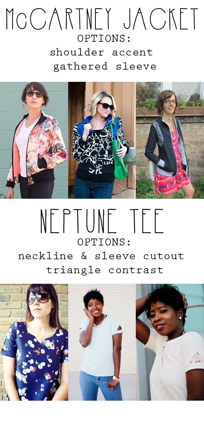 McCartney Jacket & Neptune Tee - LOVE these patterns!