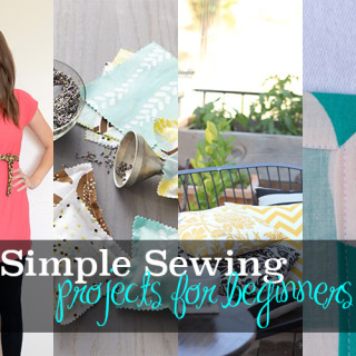 Super simple sewing projects for beginners