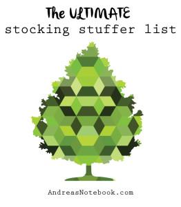 Over 300 amazing stocking stuffer ideas!