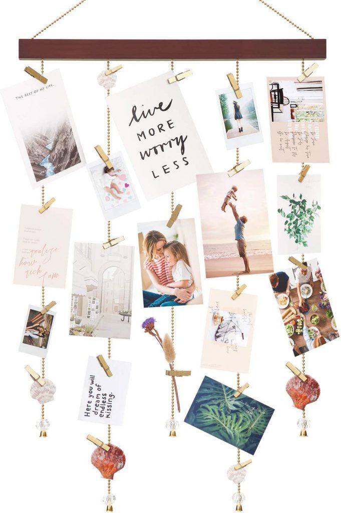 hanging card display