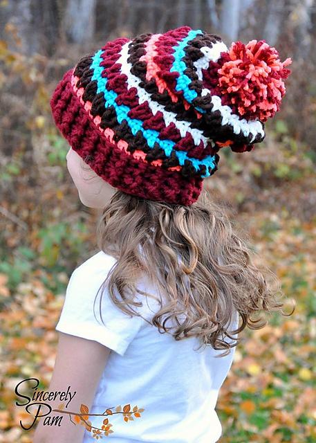 Adorable list of crochet hats for girls!