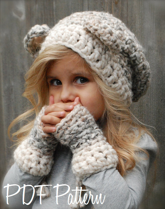 Elizabeth Crochet Hat Pattern For Child : Ridiculously Cute Crochet Hat Patterns for Girls - Andrea ...