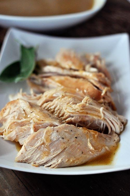 turkey and gravy in a crock pot!