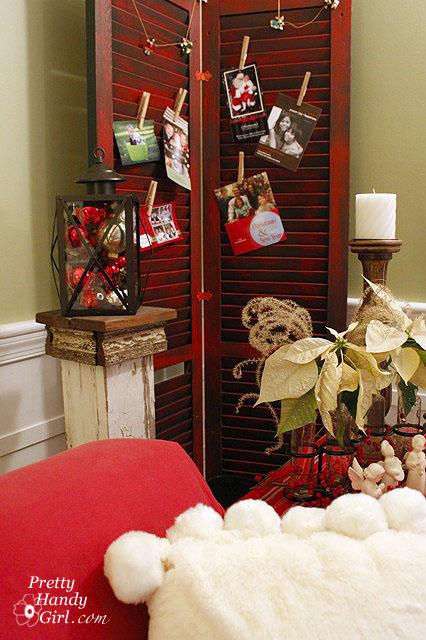 Christmas card display ideas!