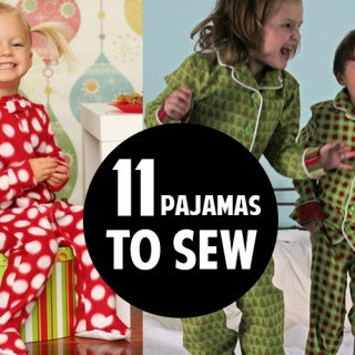 11 great pajama patterns to sew!