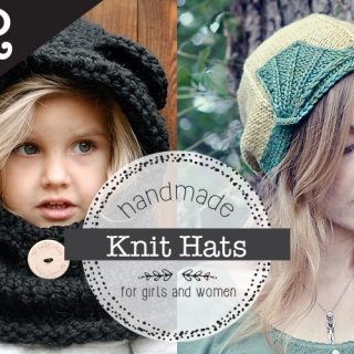 12 Knit Hat Patterns for Girls and Women