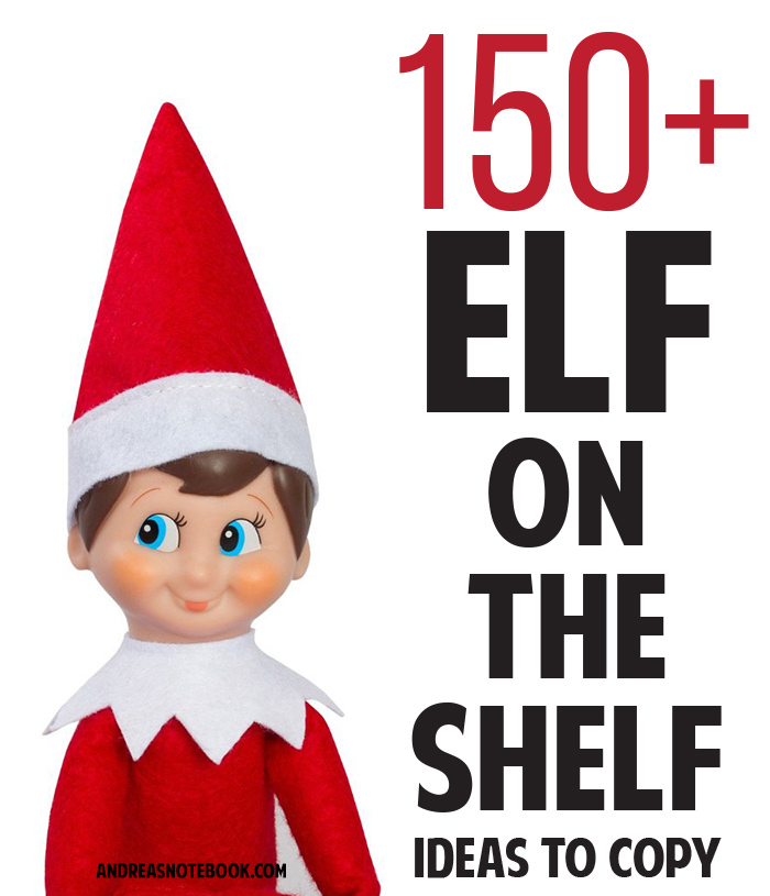 Elf On The Shelf Eating Food