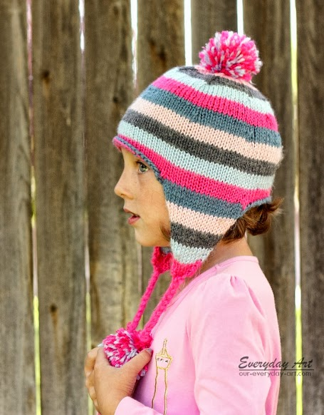Knit hat patterns for girls