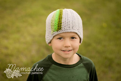 Lots of hat patterns for boys! Knit, crochet & sew!