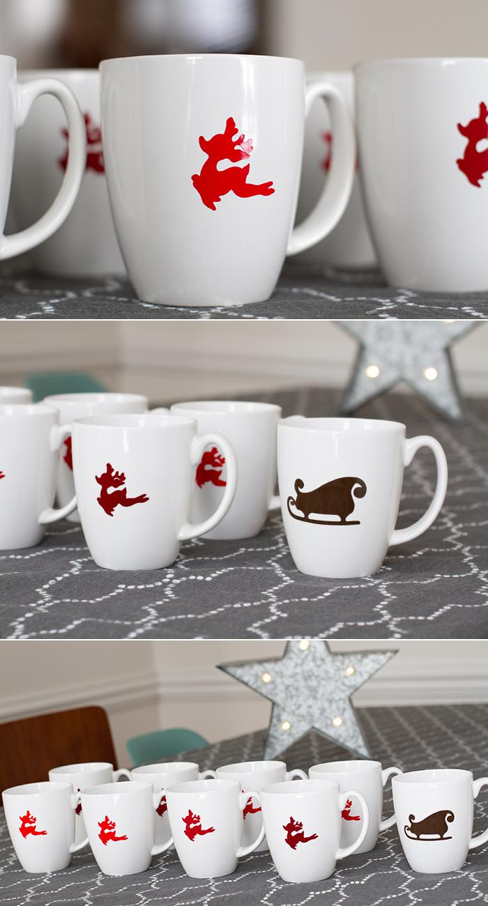 Christmas mug tutorial
