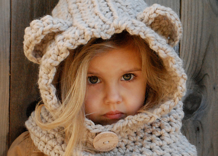 Crochet Pattern Hat Girl : Ridiculously Cute Crochet Hat Patterns for Girls - Andrea ...