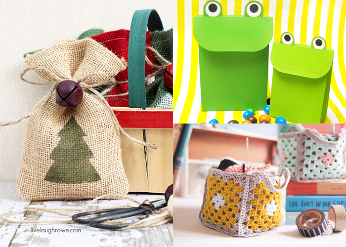 Lots of great ideas for DIY gift wrap
