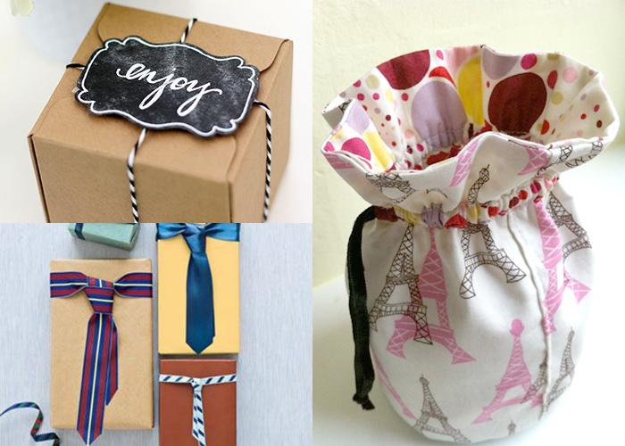12 fantastic DIY wrapping ideas