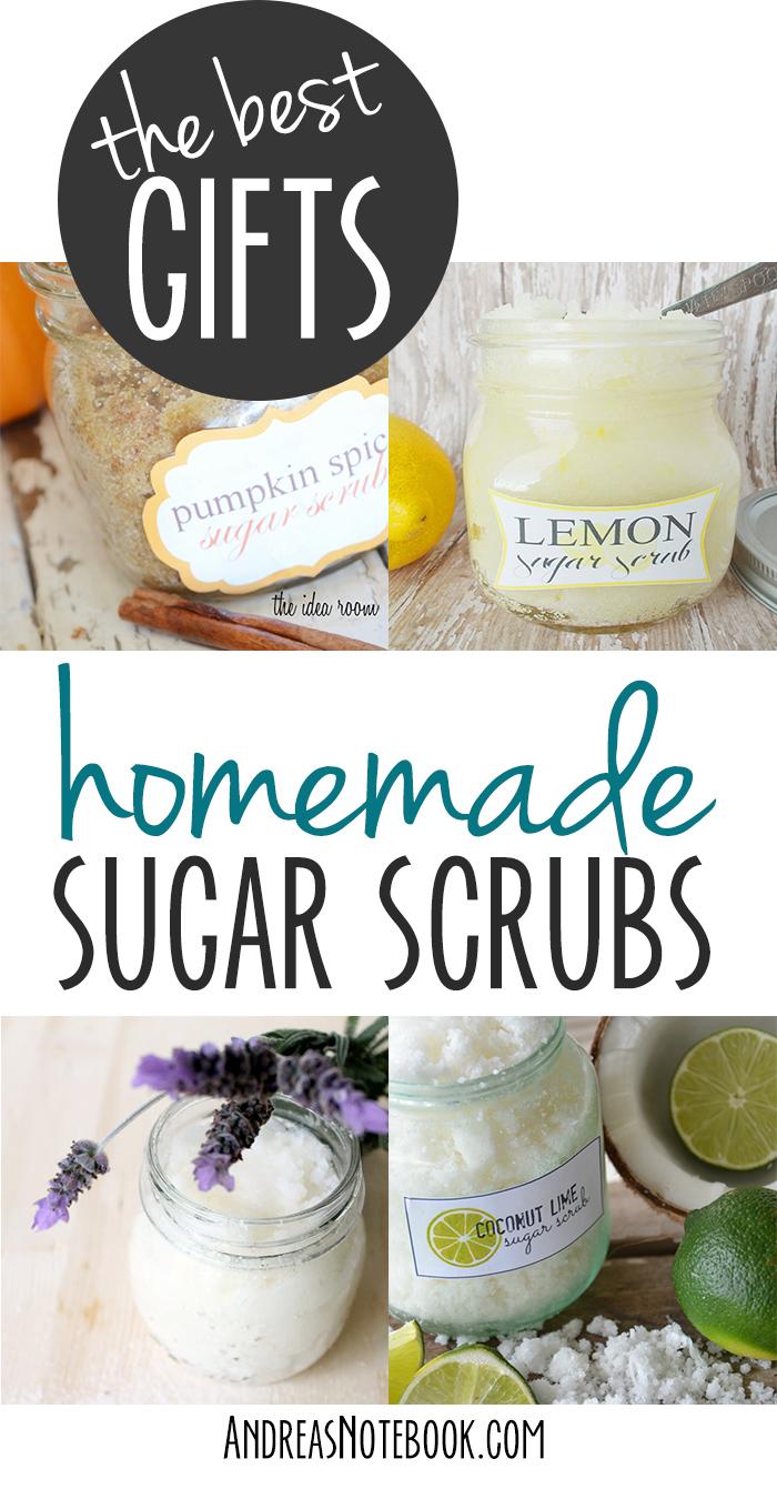 Homemade sugar scrub recipes