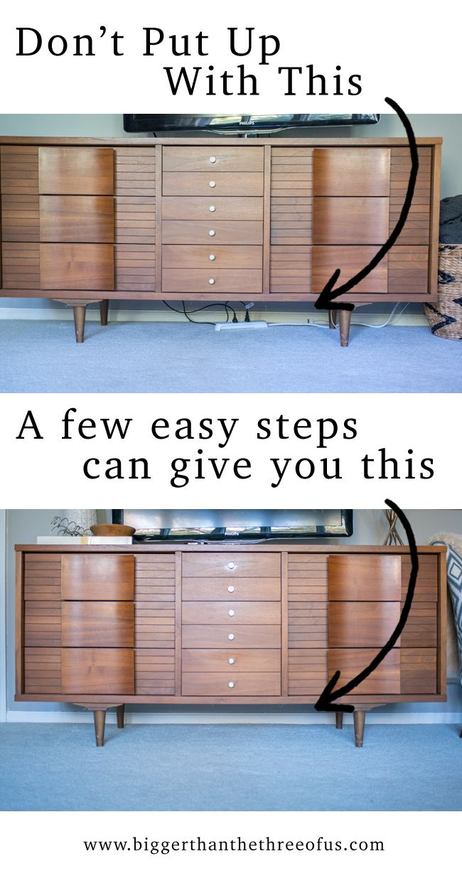 How to hide ugly cords