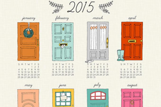 Love this 2015 calendar!
