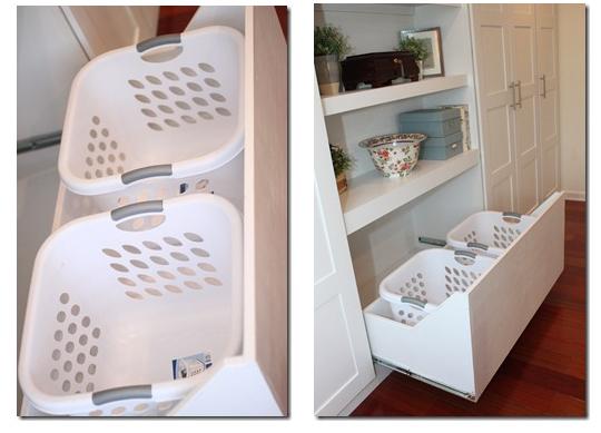Ikea HACK! Hide your laundry baskets.