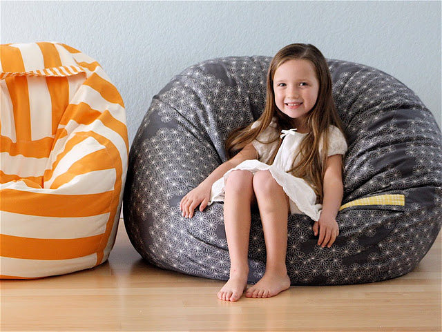 Bean bag chairs by MADE