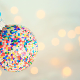 Simple DIY Candy Ornaments